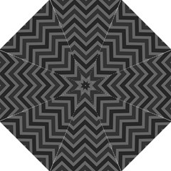 Zigzag  pattern Hook Handle Umbrellas (Large)