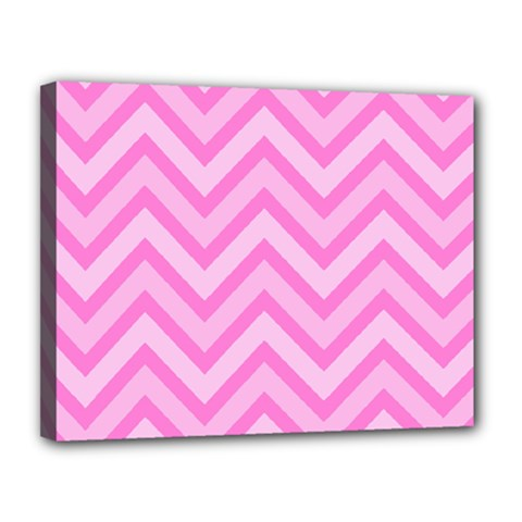 Zigzag  pattern Canvas 14  x 11