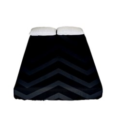 Zigzag  pattern Fitted Sheet (Full/ Double Size)