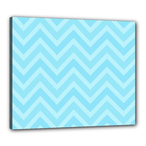 Zigzag  pattern Canvas 24  x 20