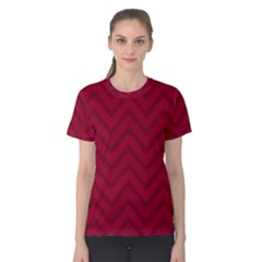 Zigzag  pattern Women s Cotton Tee
