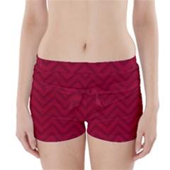 Zigzag  pattern Boyleg Bikini Wrap Bottoms