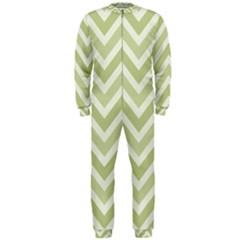 Zigzag  pattern OnePiece Jumpsuit (Men)
