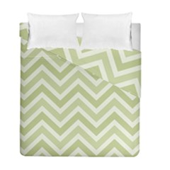 Zigzag  pattern Duvet Cover Double Side (Full/ Double Size)