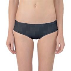Zigzag  pattern Classic Bikini Bottoms