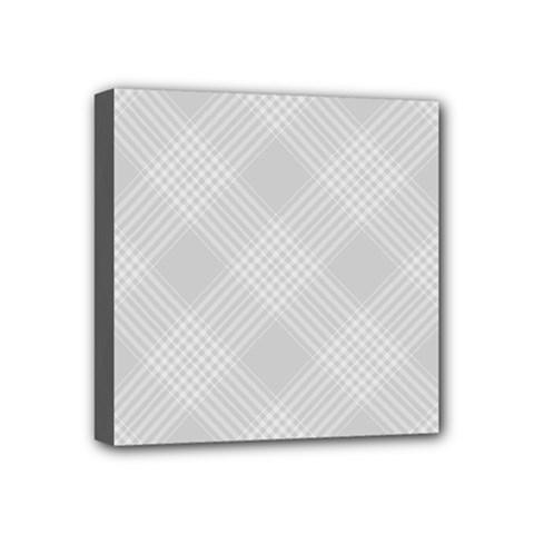 Zigzag  pattern Mini Canvas 4  x 4