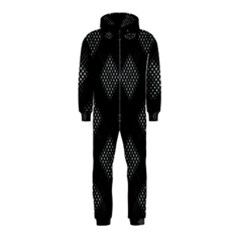 Zigzag pattern Hooded Jumpsuit (Kids)