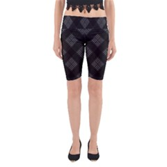 Zigzag pattern Yoga Cropped Leggings