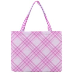 Zigzag pattern Mini Tote Bag
