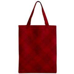 Zigzag pattern Zipper Classic Tote Bag