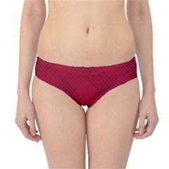 Zigzag pattern Hipster Bikini Bottoms