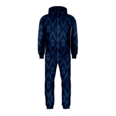 Pattern Hooded Jumpsuit (Kids)