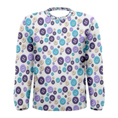 Buttons Chlotes Men s Long Sleeve Tee