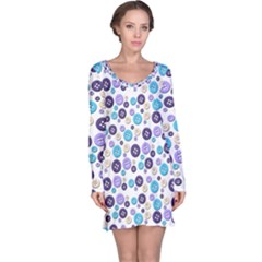 Buttons Chlotes Long Sleeve Nightdress