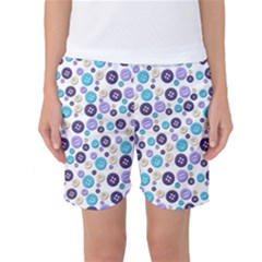 Buttons Chlotes Women s Basketball Shorts