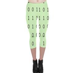 Code Number One Zero Capri Leggings