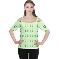 Code Number One Zero Women s Cutout Shoulder Tee
