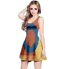 Digital Music Is Described Sound Waves Reversible Sleeveless Dress