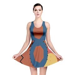 Digital Music Is Described Sound Waves Reversible Skater Dress