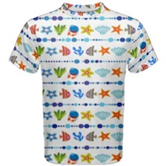 Coral Reef Fish Coral Star Men s Cotton Tee