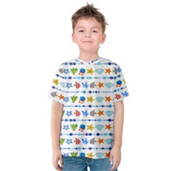Coral Reef Fish Coral Star Kids  Cotton Tee