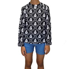Dollar Money Bag Kids  Long Sleeve Swimwear