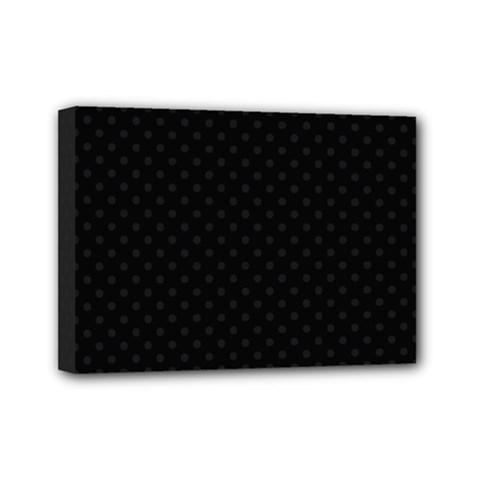 Dots Mini Canvas 7  x 5