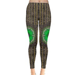 In The Stars And Pearls Is A Flower Leggings