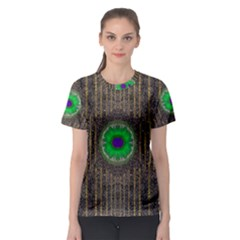 In The Stars And Pearls Is A Flower Women s Sport Mesh Tee
