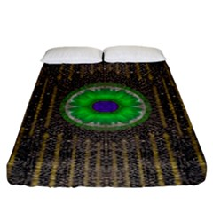 In The Stars And Pearls Is A Flower Fitted Sheet (King Size)