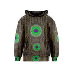 In The Stars And Pearls Is A Flower Kids  Pullover Hoodie