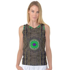 In The Stars And Pearls Is A Flower Women s Basketball Tank Top