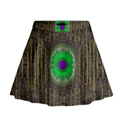 In The Stars And Pearls Is A Flower Mini Flare Skirt
