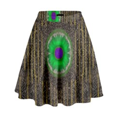 In The Stars And Pearls Is A Flower High Waist Skirt