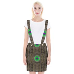 In The Stars And Pearls Is A Flower Braces Suspender Skirt
