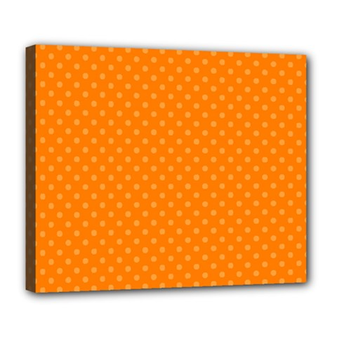 Dots Deluxe Canvas 24  x 20