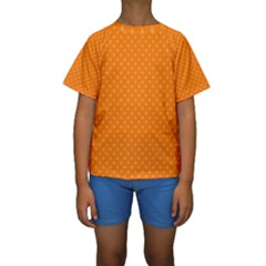 Dots Kids  Short Sleeve Swimwear