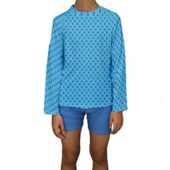 Dots Kids  Long Sleeve Swimwear