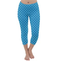 Dots Capri Winter Leggings