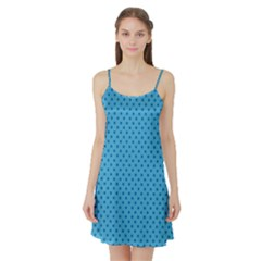 Dots Satin Night Slip