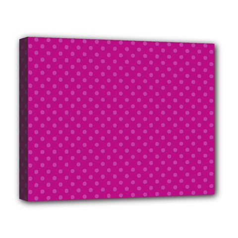 Dots Deluxe Canvas 20  x 16