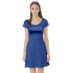 Dots Short Sleeve Skater Dress