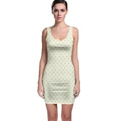 Dots Sleeveless Bodycon Dress