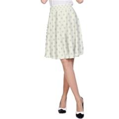 Dots A-Line Skirt