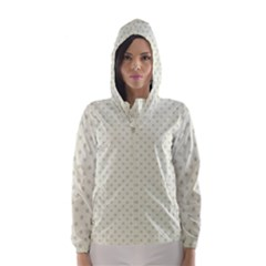 Dots Hooded Wind Breaker (Women)