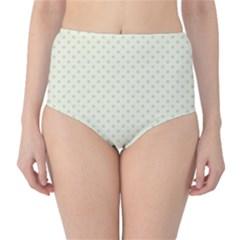 Dots High-Waist Bikini Bottoms