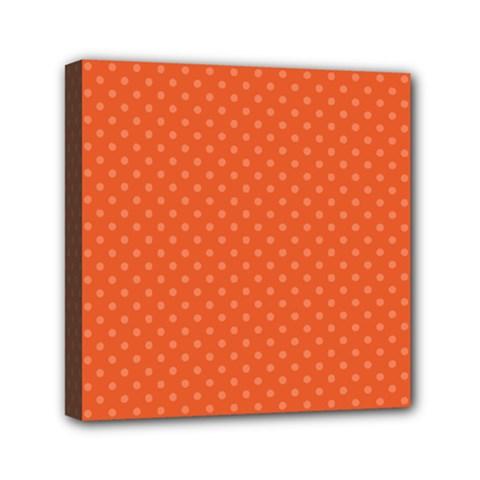 Dots Mini Canvas 6  x 6