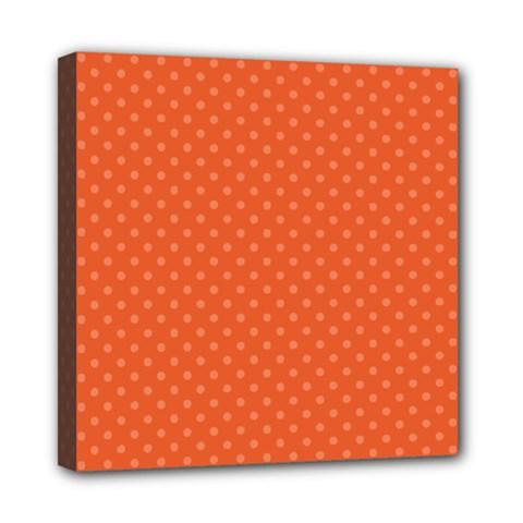 Dots Mini Canvas 8  x 8