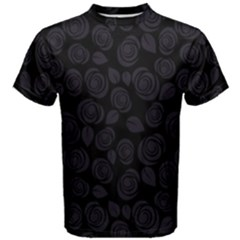 Floral pattern Men s Cotton Tee