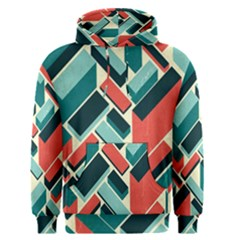 German Synth Stock Music Plaid Men s Pullover Hoodie